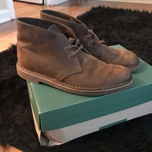 Clarks Beeswax Leather Bushacre 2 Sz 8